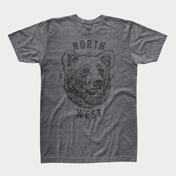 product: Mystery Made Bear Shirt Grey