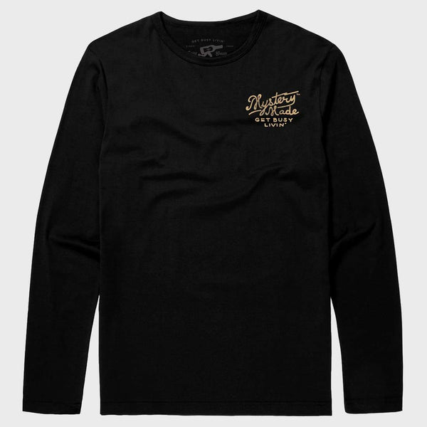product: Mystery Made Handmade LS T-shirt Black