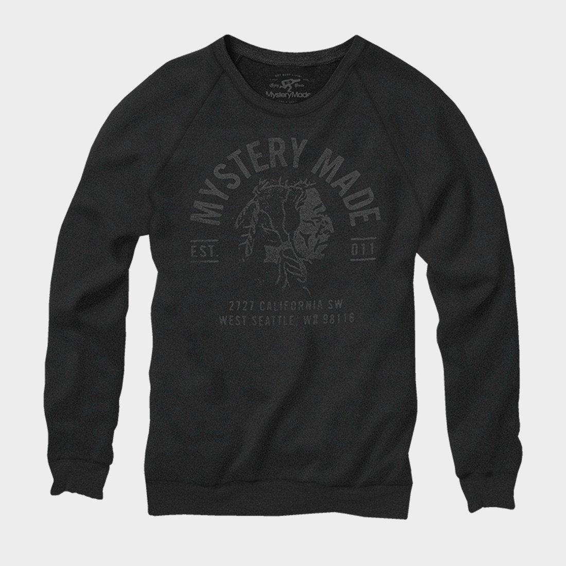 Mystery Made Native Crew Black