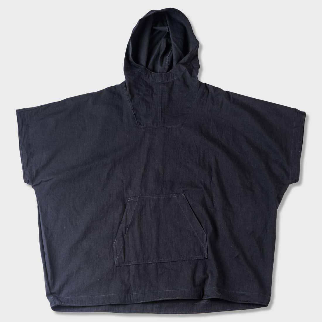 Naked & Famous Anorak Black Denim