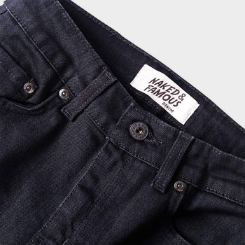 product: Naked & Famous Black Power-Stretch The Skinny