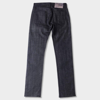 product: Naked & Famous Black X Grey Stretch Selvedge Weird Guy