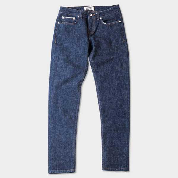 product: Naked & Famous Brushed Stretch Selvedge The Boyfriend