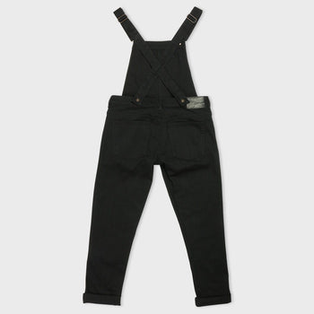 product: Naked & Famous Overalls Black Power-Stretch
