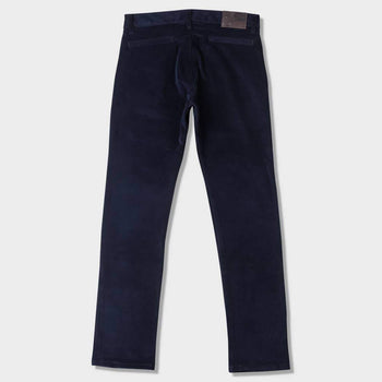 product: Naked & Famous Slim Chino 2-Way Stretch Corduroy Navy