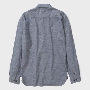 product: Norse Projects Hans Mouline Mouse Grey Melange
