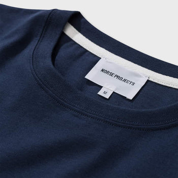 product: Norse Projects Niels Standard S/S T-shirt Navy