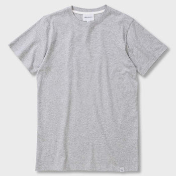 product: Norse Projects Niels Standard S/S T-shirt Light Grey Melange