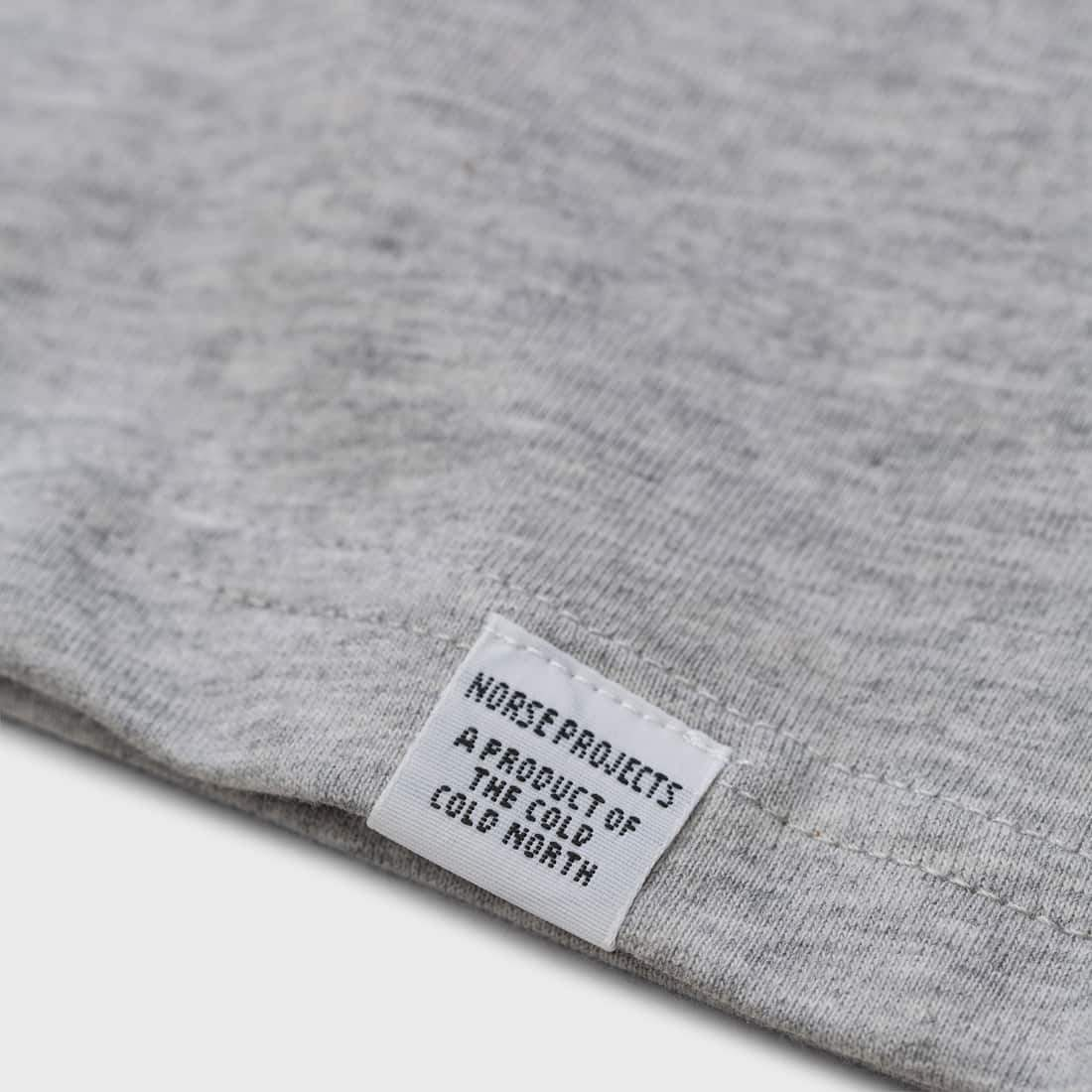 1b2bf129ce7 Norse Projects Niels Standard S S T-shirt Light Grey Melange