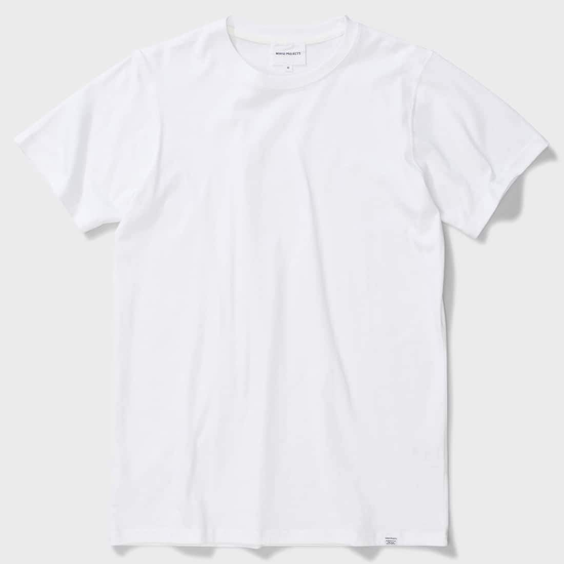 Norse Projects Niels Standard S/S T-shirt White