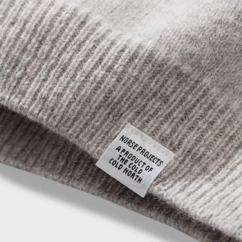 product: Norse Projects Sigfred Lambswool Light Grey Melange