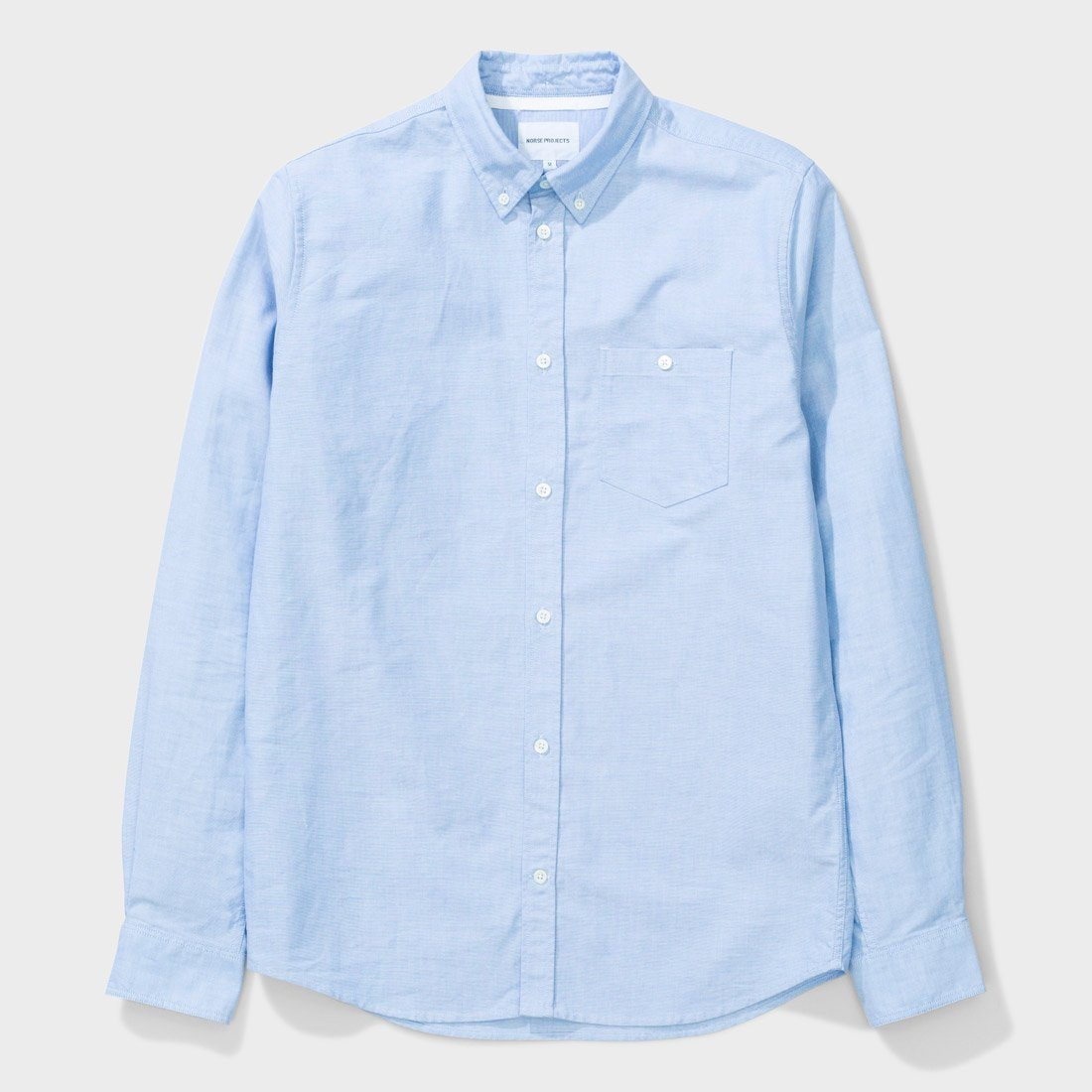 Norse Projects Anton Oxford Shirt Pale Blue