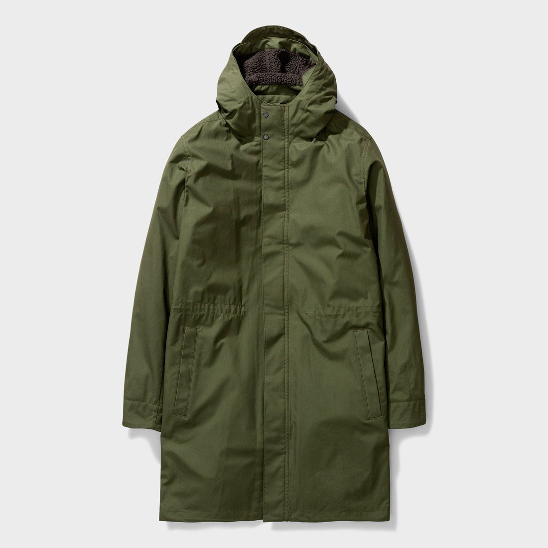 Norse Projects Elias Cambric Cotton Jacket Ivy Green