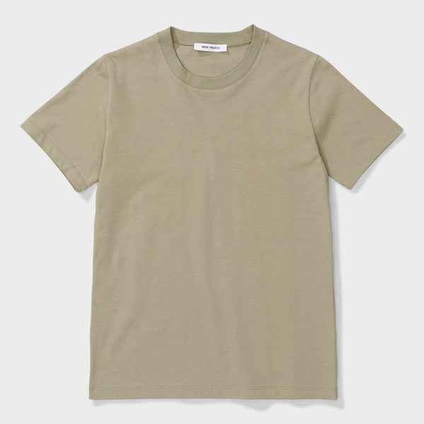 product: Norse Projects Women's Gro Standard Cotton T-Shirt Washed Kelp