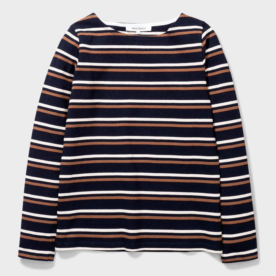 Norse Projects Inge Classic Stripe Blue Stripe