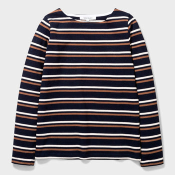 product: Norse Projects Inge Classic Stripe Blue Stripe