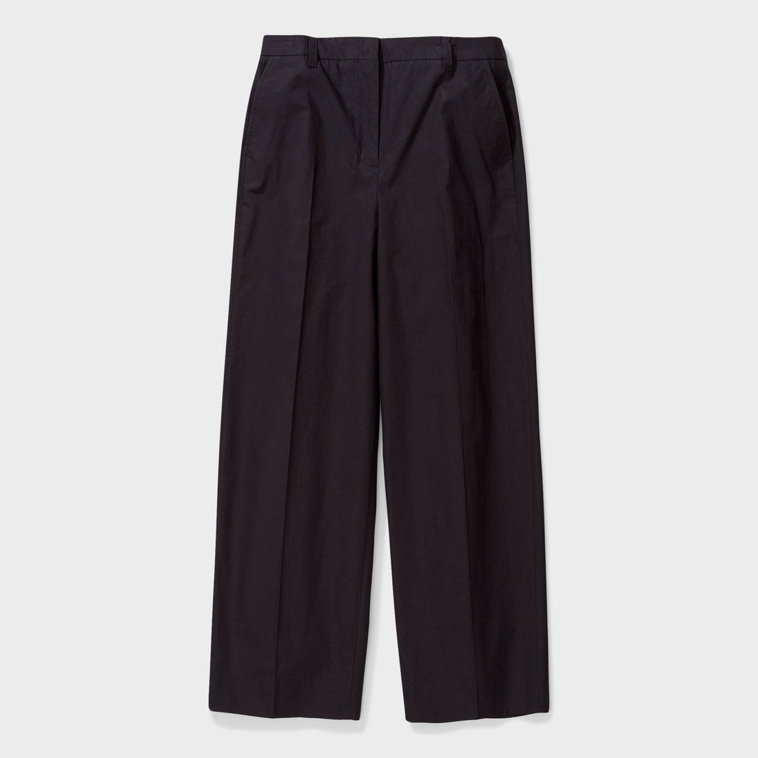 Norse Projects Women's Katty Heavy Poplin Pant Black