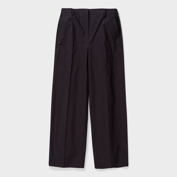 product: Norse Projects Katty Heavy Poplin Pant Blackproduct: Norse Projects Women's Katty Heavy Poplin Pant Black