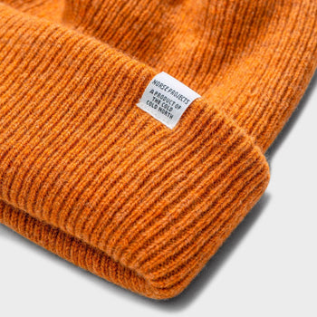 product: Norse Projects Norse Beanie Montpellier Yellow