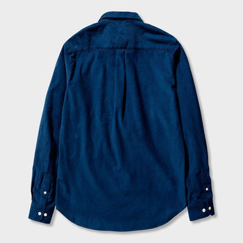product: Norse Projects Osvald Corduroy Shirt Navy
