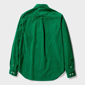 product: Norse Projects Osvald Corduroy Shirt Sporting Green