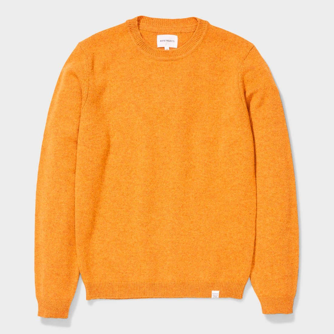 Norse Projects Sigfred Lambswool Sweater Montpellier Yellow