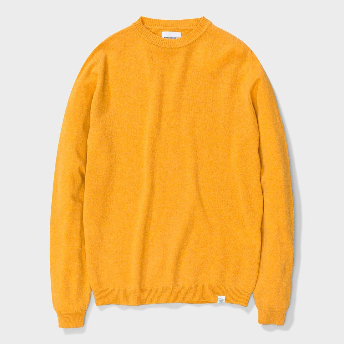 Norse Projects Sigfred Lambswool Sweater Sunwashed Yellow