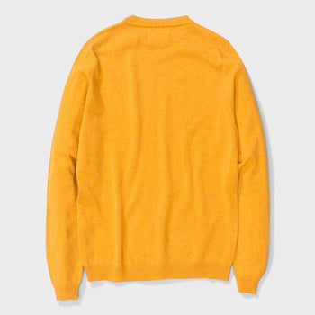 product: Norse Projects Sigfred Lambswool Sweater Sunwashed Yellow