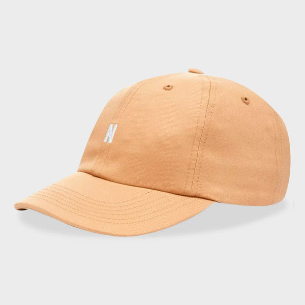 product: Norse Projects Twill Sports Cap Utility Khaki