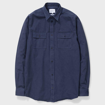 product: Norse Projects Villads Twill Navy