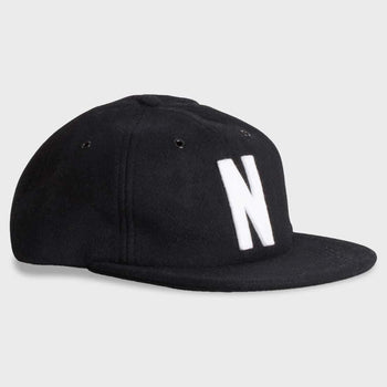 product: Norse Projects Norse Wool Cap Black