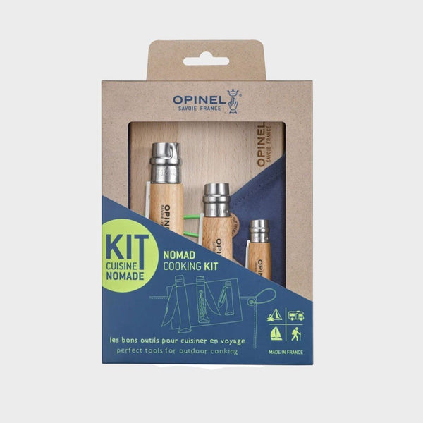 product: Opinel Nomad Cooking Kit Wood