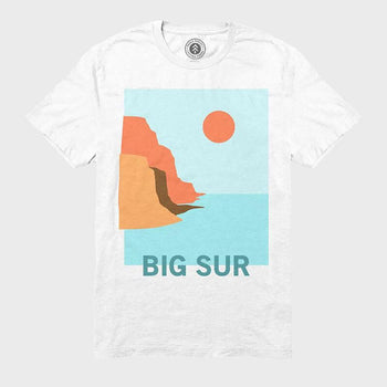 product: Parks Project Big Sur Coastal Tee White