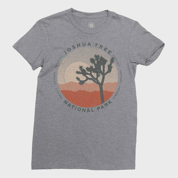product: Parks Project Women's Joshua Tree Layers T-shirt Heather Grey