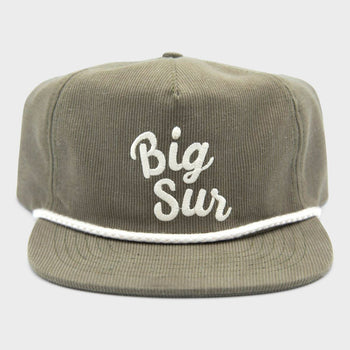 product: Parks Project Big Sur Cord Hat Moss