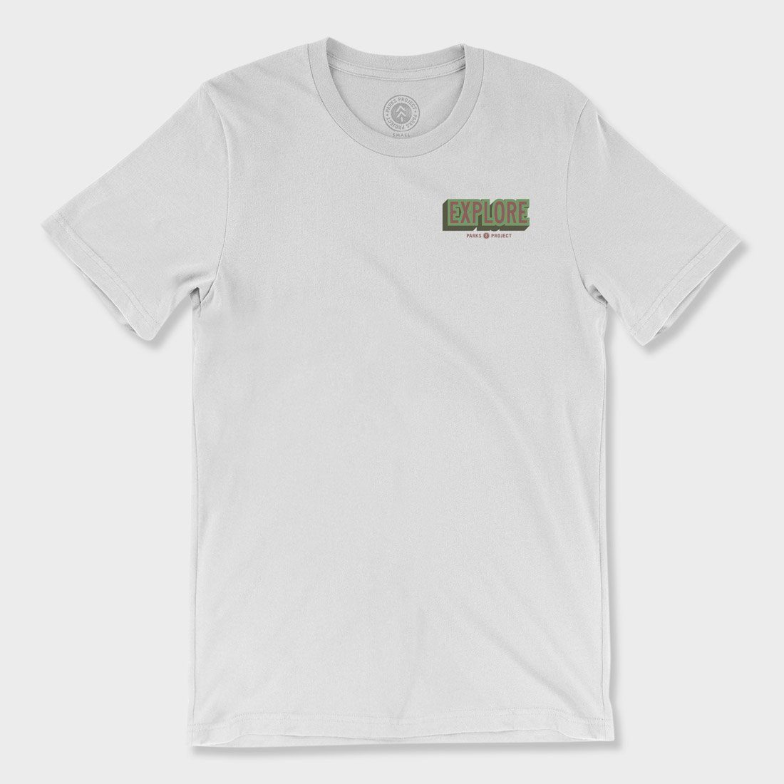 Parks Project Explore National Parks T-Shirt White