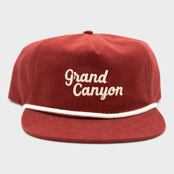 product: Parks Project Grand Canyon Cord Hat Maroon