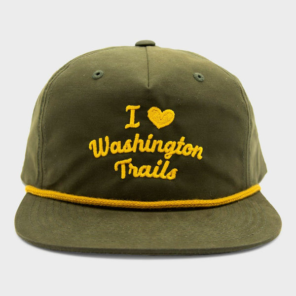 product: Parks Project I Heart Washington Trails Throwback Hat Green