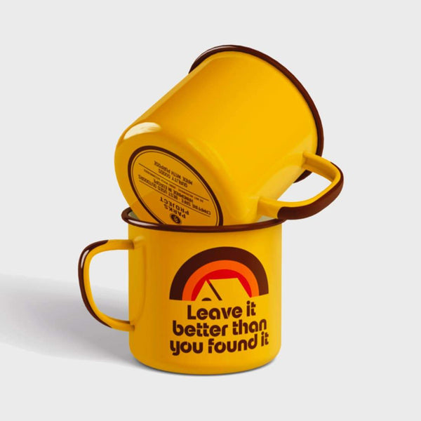 product: Parks Project Leave It Better Rainbow Mug