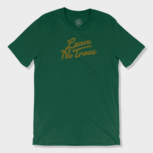 product: Parks Project Leave No Trace T-Shirt Forest Green