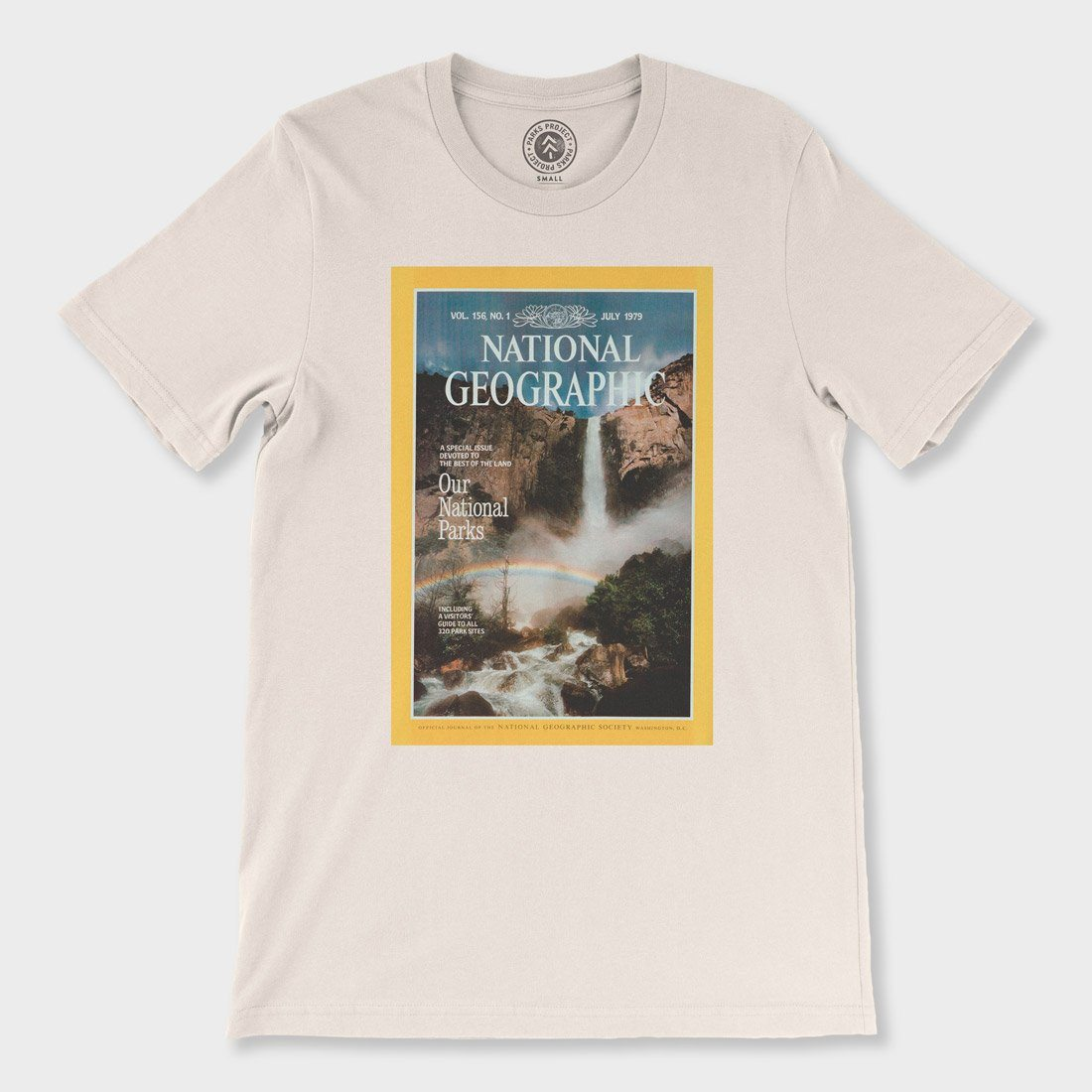 Parks Project National Geographic July 79' National Parks Cover T-Shirt natural