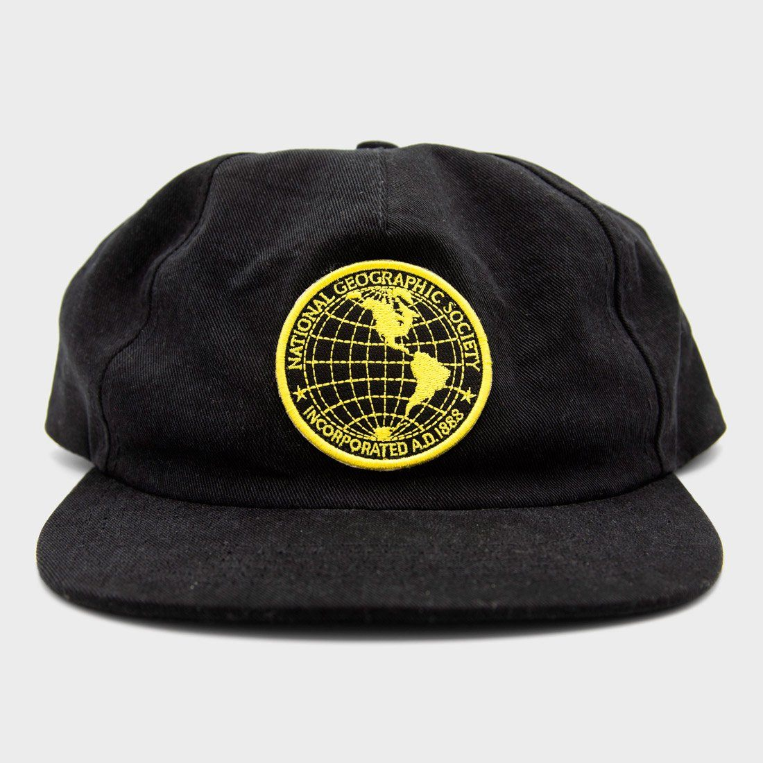 Parks Project National Geographic Society Vintage Logo Hat Black