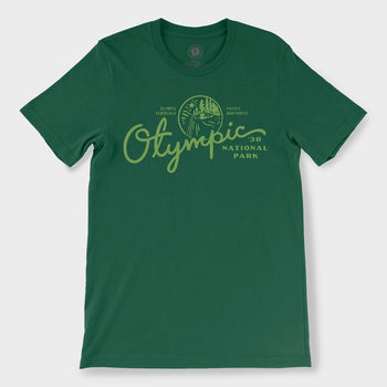 product: Parks Project Olympic 38 T-Shirt Green
