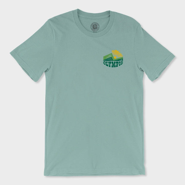 product: Parks Project Olympic T-Shirt Heather Dusty Blue