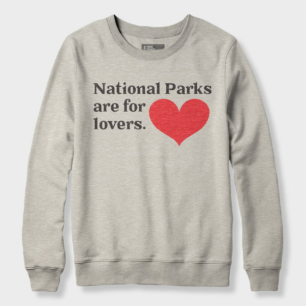product: Parks Project Parks For Lovers Unisex Fleece Heather Oatmeal