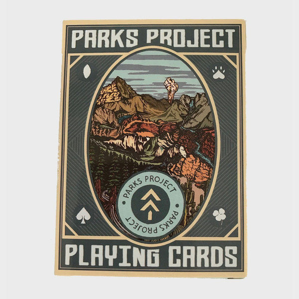 product: Parks Project National Park Playing Cards