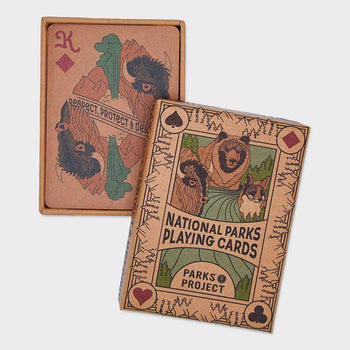 product: Parks Project Wildlife Playing Cards Multi