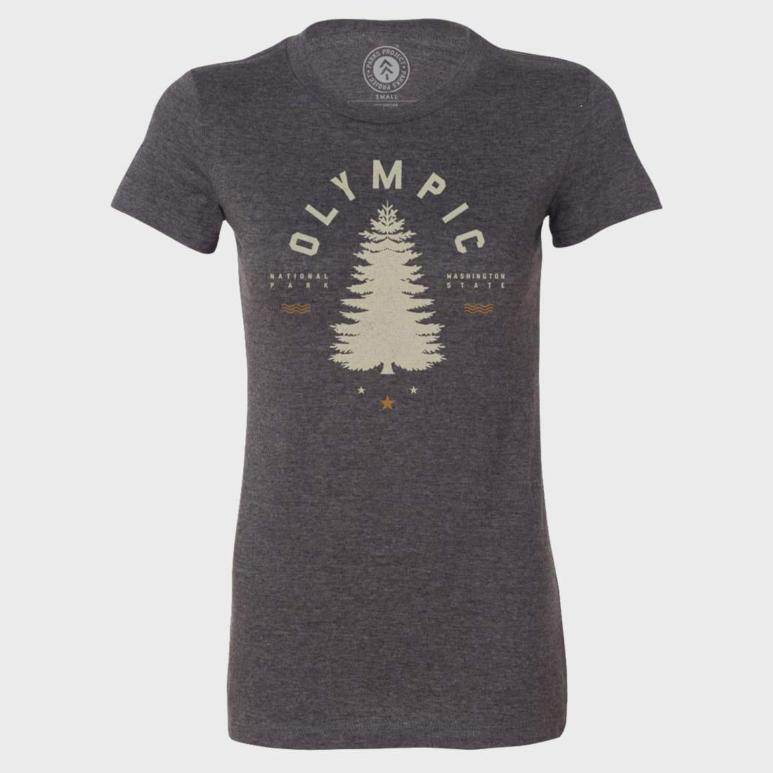 Parks Project Women's Olympic Tree Tee Heather Grey