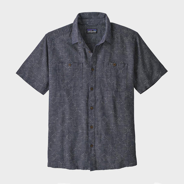 product: Patagonia Back Step Shirt Go Shawk New Navy