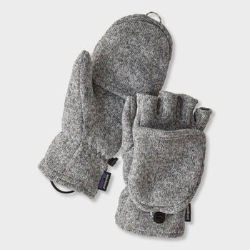 product: Patagonia Better Sweater Gloves Birch White